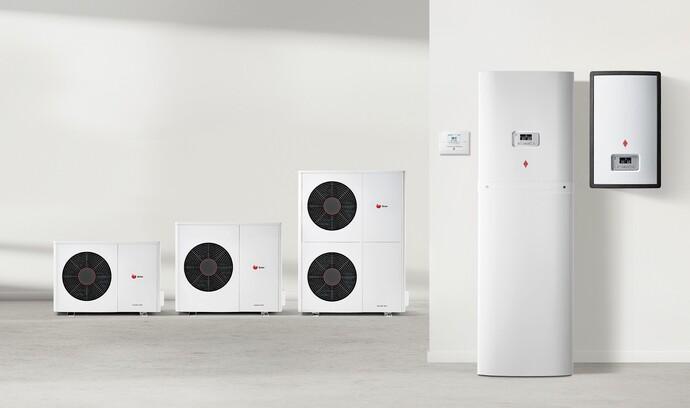 La gamme de pompes à chaleur GeniaAir Split.
