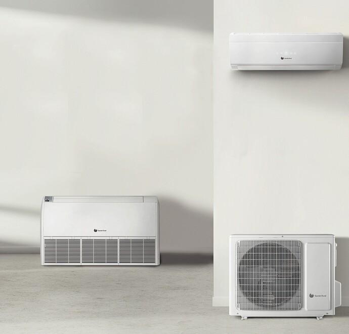 VivAir gamma lucht lucht warmtepompen