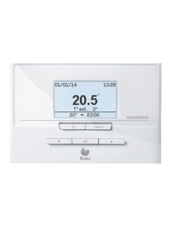 Programmeerbare eBUS thermostaat ExaControl E7C