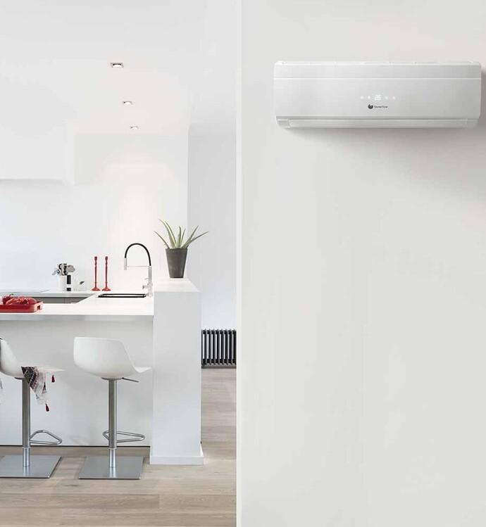 Le climatiseur VivAir muni d'un ventilateur permet de purifier l'air. Un avantage particulièrement adapté pour les personnes souffrant d'allergies.